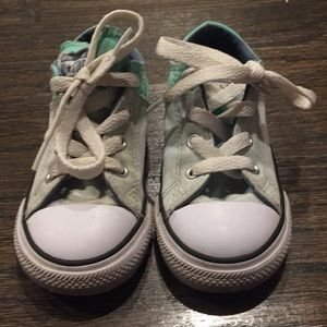💕Green Toddler Converse💕